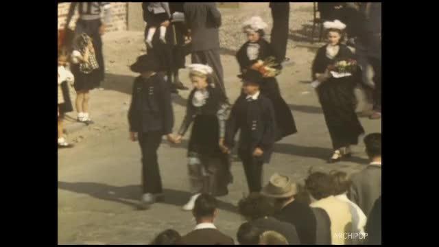 22 août 1954 : Fête mariale à Abbeville