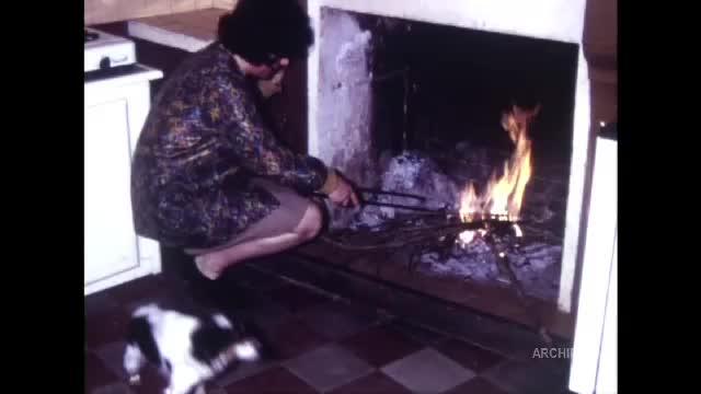 Beauvais 1968 - Feux de bois et jeux de cordes - Mariage Geneviève