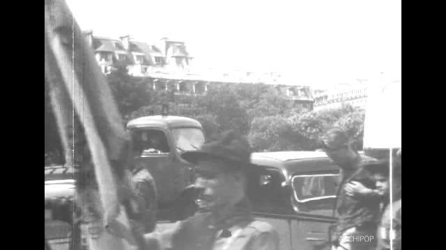 Vacances 1952. Lachaussée du Bois d'Ecu. Partie 2