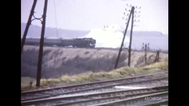 231K - locomotive, train spécial pour l'ORTF de Calais à Etaples