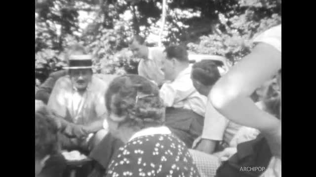15 août 1936 Le marais à Roiglise