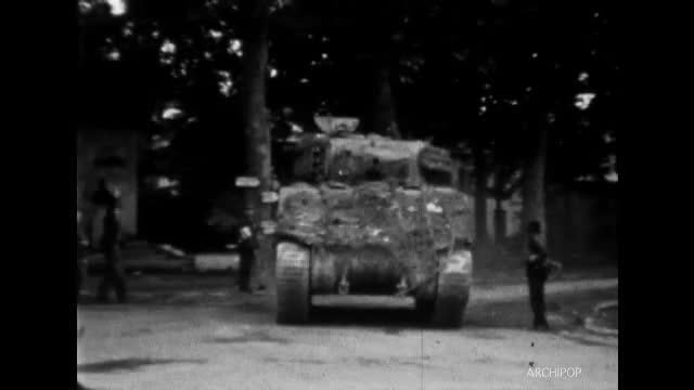 Arrivée des Alliés à Beauvais