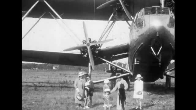 Avion Horatius Imperial Airways London, Aérodrome de Berck