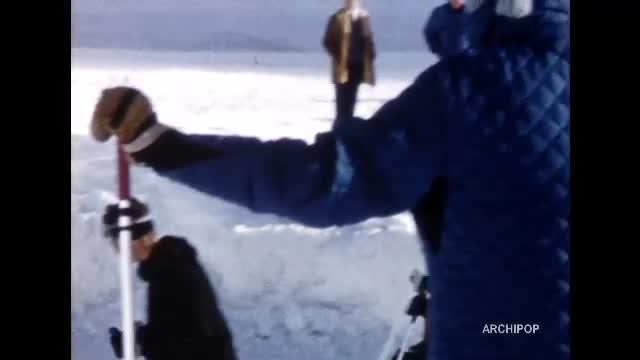 Sports d'hiver à Val d'Isère - Départ de Rang-du-Fliers