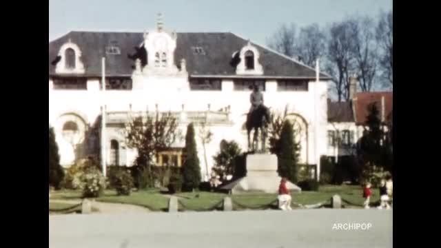 Ciné club, Aix en Issart - Montreuil - Valenciennes Floralies 1962