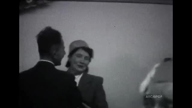 St Louis 1954, 1957 - Noël usine 1957