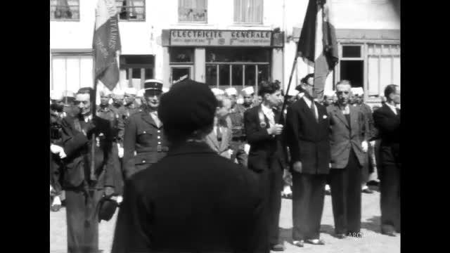 Inauguration Avenue Général Leclerc, Montreuil-sur-Mer