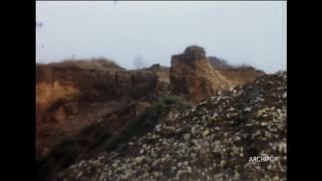 Bocquelin Wailly-Beaucamp (62) - Site industriel, usine de sable (sablière)
