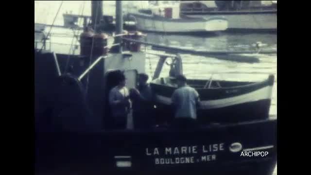 Boulogne sur Mer - balade sur le port.