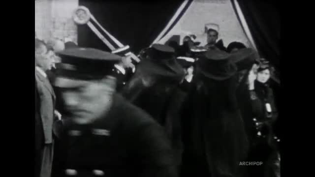 Funérailles de l'adjudant Derly
