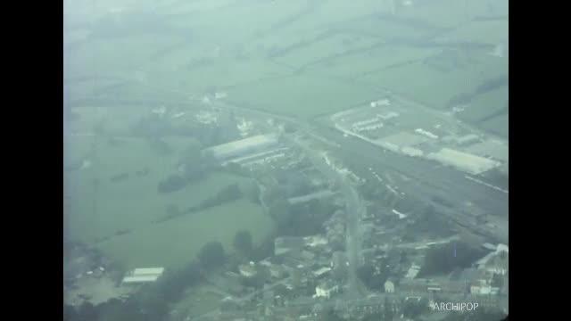 Prise de vues en avion de Maubeuge