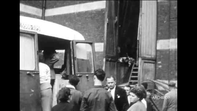 Feu d'artifice : Fourmies 1950-1951
