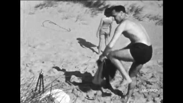 Vacances 1948 Wissant
