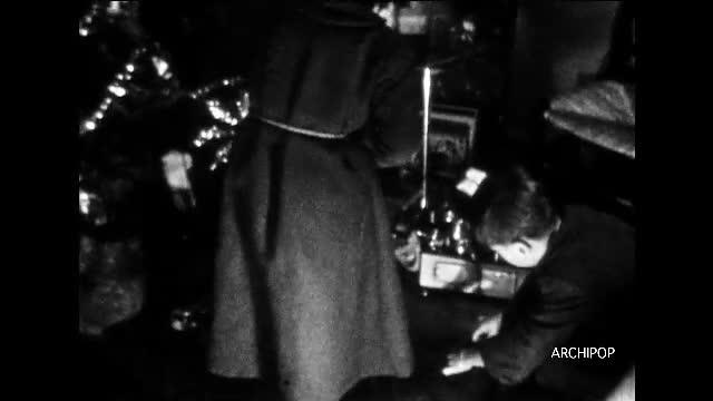 Noël 1947, 1948,1950 - 1er anniversaire Sylvie 1950