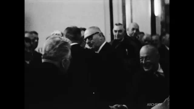 Visite de René Coty à Dunkerque