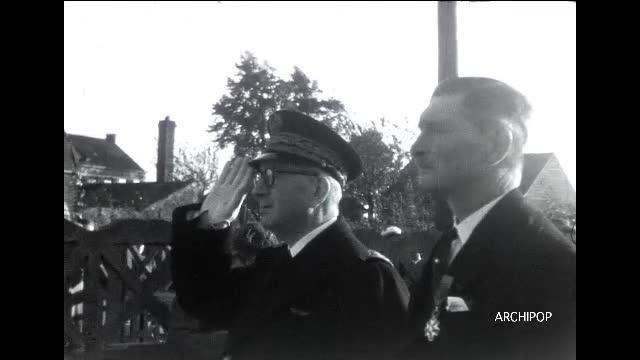 Commémoration de la Libération à Oost Cappel