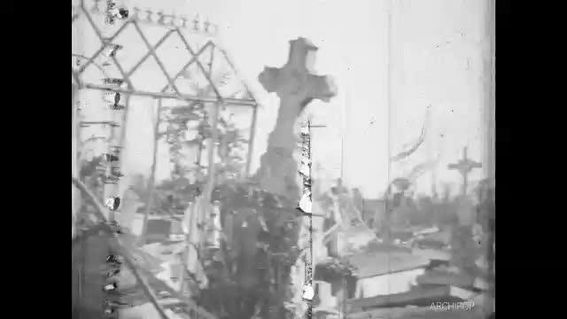 Tergnier en ruines, Chauny, Libération d'Autreville 1944