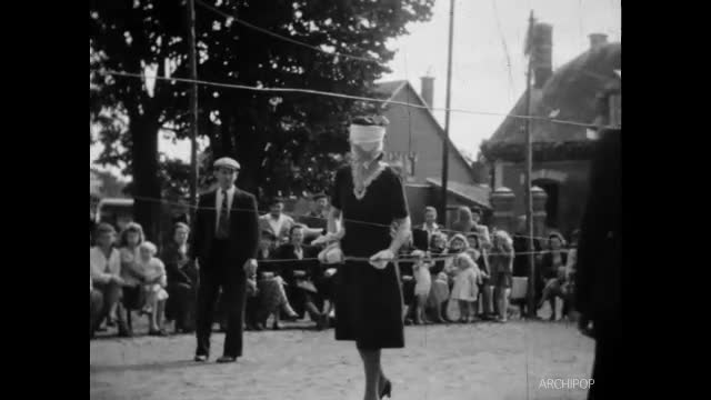 Journée de la Victoire, fête d'Autreville 1945, concours de pêche Chauny (La)