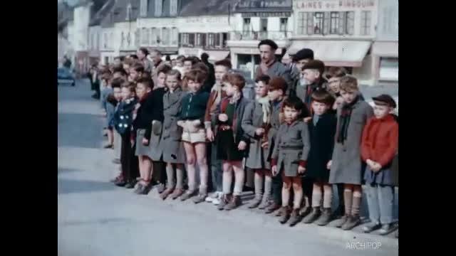 Visite du Président De Gaulle - Fête militaire - Fête terrain des sports