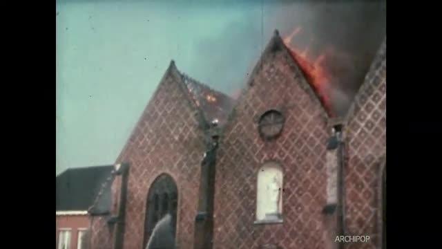 Incendie de l'église d'Esquelbecq