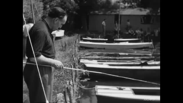 Sortie des clubs de cinéastes amateurs au lac de Palluel