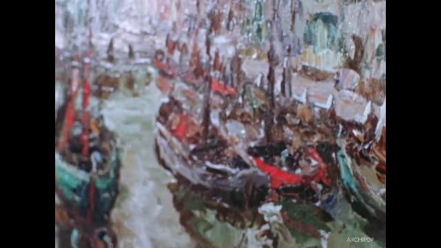 Un peintre André Copin