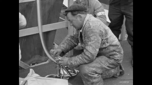 Lancement Pétrolier De Baïf 1954