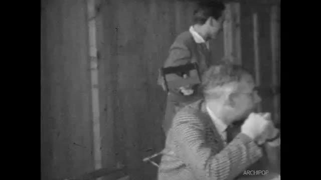 Cours d'histoire à Gay Lussac (Chauny) en 1955